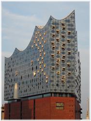 Elbphilharmonie Hamburg in der Abendsonne - Vertriebsberatung Hamburg