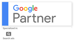 Logo Google Partner - Vertriebsberatung Hamburg