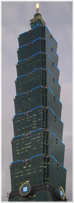 With Website Optimization from Germany to the top - Taipei 101
